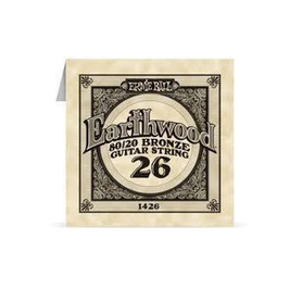 Ernie Ball Earthwood 1426 80/20 Bronze Acoustic Guitar Single 26