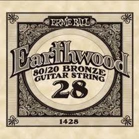 Ernie Ball Earthwood 1428 80/20 Bronze Acoustic Guitar Single 28