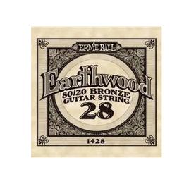 Ernie Ball Earthwood 1428 80/20 Bronze Acoustic Guitar Single 28