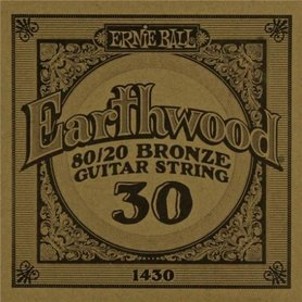 Ernie Ball Earthwood 1430 80/20 Bronze Acoustic Guitar Single 30