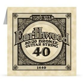 Ernie Ball Earthwood 1440 80/20 Bronze Acoustic Guitar Single 40