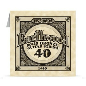Ernie Ball Earthwood 1440 80/20 Bronze Acoustic Guitar Single 40