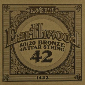 Ernie Ball Earthwood 1442 80/20 Bronze Acoustic Guitar Single 42