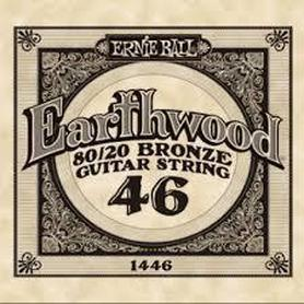 Ernie Ball Earthwood 1446 80/20 Bronze Acoustic Guitar Single 46