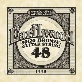 Ernie Ball Earthwood 1448 80/20 Bronze Acoustic Guitar Single 48