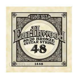 Ernie Ball Earthwood 1448 80/20 Bronze Acoustic Guitar Single 48