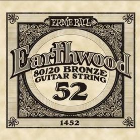 Ernie Ball Earthwood 1452 80/20 Bronze Acoustic Guitar Single 52