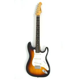 Aria STG Series Sunburst Gitara Elektryczna