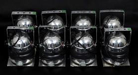 IMG Stageline Reflektory Dyskotekowe 8szt.