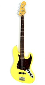 Fender Jazz Bass Deluxe Series Active Vintage White Gitara Basowa