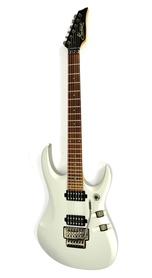 Maverick F1 Superstrat Silver Gitara Elekatryczna