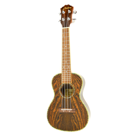 Ukulele Concert - Bocote wood Body, albalone roset
