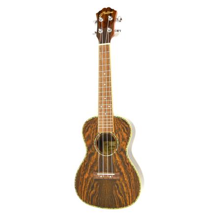 Ukulele Concert - Bocote wood Body, albalone roset (1)