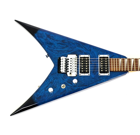 Jackson KVX King V Swirl Blue Japan Gitara Elektryczna