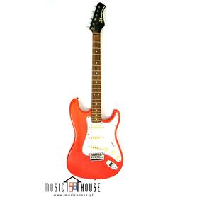 Hondo Stratocaster Red Vintage Gitara Elektryczna