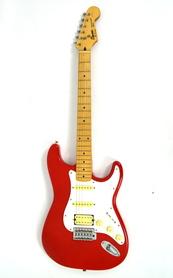 Squier Stratocaster by Fender Red MIK Gitara Elektryczna