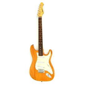 Aria STG Series Natural Gitara Elektryczna