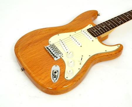 Aria STG Series Natural Gitara Elektryczna (3)