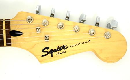 Fender Squier Bullet Stratocaster HSS Gitara Elektryczna (6)