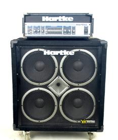 Hartke HA3500 + Hartke VX410 Zestaw Basowy