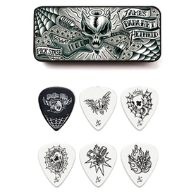 Hetfield Tin-Box - zestaw kostek gitarowych