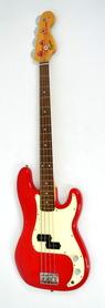 Squier P Bass Red Gitara Basowa