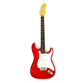 Squier Stratocaster by Fender Red MIJ Gitara Elektryczna