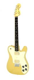 Fender Chris Shiflett Telecaster Deluxe Gold Gitara Elektryczna