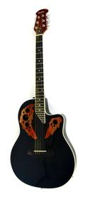 Harley Benton HBO 850 BK Gitara Elektracustyczna