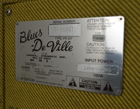 Fender Blues DeVille 410 Wzmacniacz Gitarowy