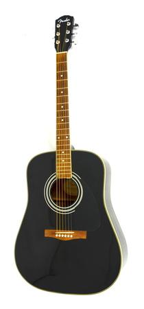 Fender Dg-3 Black Gitara Akustyczna 1