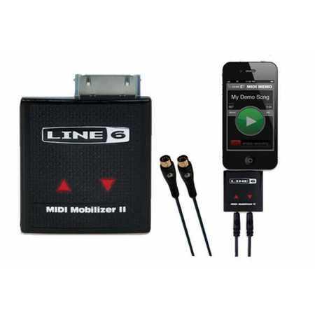 Line 6 MIDI Mobilizer II IPhone IPad