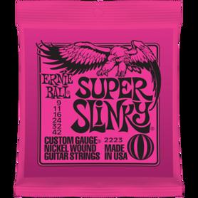 ERNIE BALL EB 2223 Super Slinky Struny Do Gitary Elektrycznej 9-42