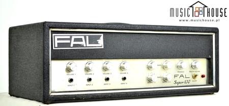 FAL Super 100 Vintage Wzmacniacz Gitarowy Basowy