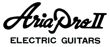 Aria Pro II Electric Guitars